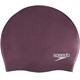 speedo Plain Moulded Silicone Cap Violet Quartz